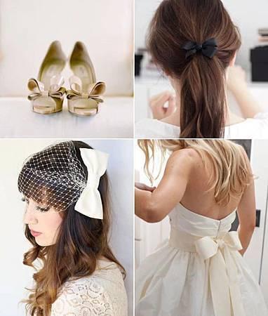 婚禮上的蝴蝶結