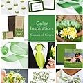 綠色系主題婚禮