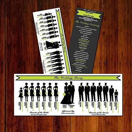婚禮流程表