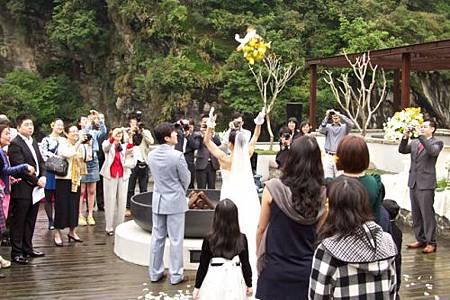 太魯閣峽谷婚禮