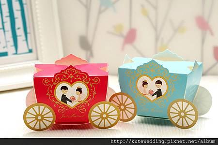 【皇家馬車】童話婚禮喜糖盒