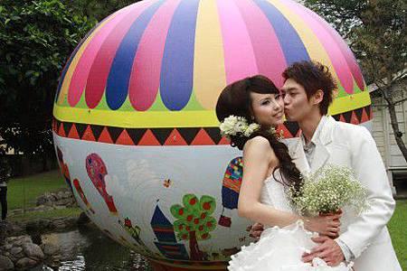 臺東熱汽球婚禮