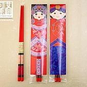 可艾婚禮小物 龍鳳呈祥筷子