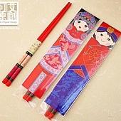 可艾婚禮小物 龍鳳呈祥筷子 箸福 筷子 伴郎禮 兄弟禮