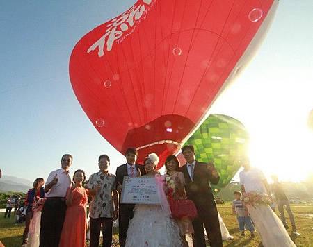 台東熱氣球婚禮