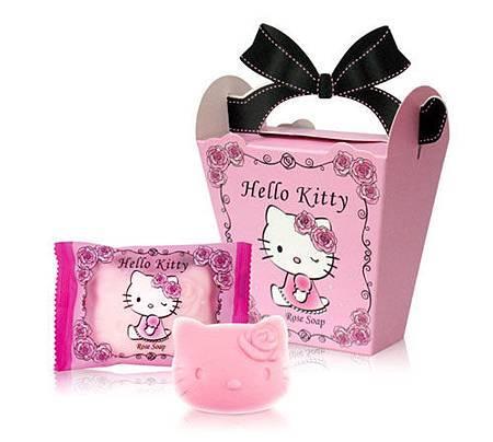 優雅玫瑰Kitty 凱蒂貓香皂 婚禮小物