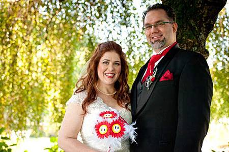瑪利歐主題婚禮