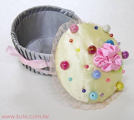 可艾婚禮小物_泡泡蛋糕珠寶盒