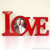 可艾婚禮_紅色LOVE相框 會場佈置道具