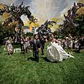 我的婚禮被攻擊了!婚紗攝影新玩法