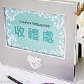可艾婚禮用品_桌卡相框組