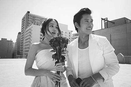 李秉憲、李珉廷婚紗照