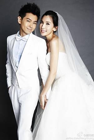 林志穎婚紗照