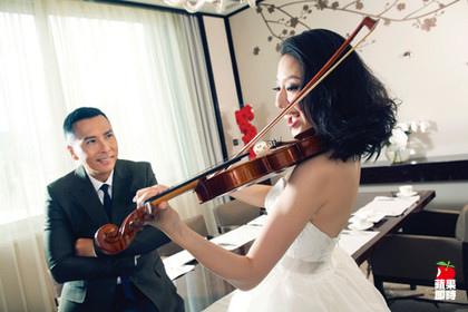 甄子丹結婚十年 甜蜜拍婚紗