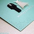 可艾喜帖設計 西式婚卡