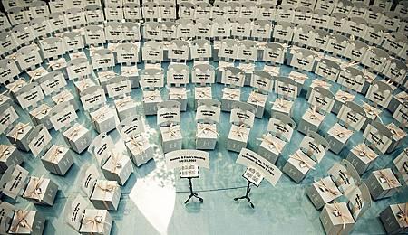 婚禮座位卡指示 交響樂團