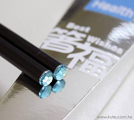 可艾婚禮小物_藍鑽箸福筷子禮盒