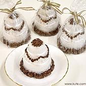 可艾婚禮小物_巧克力蛋糕蠟燭