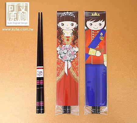 可艾婚禮小物 皇室婚禮 祝福筷子
