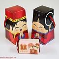 中國娃娃(單) 結婚喜米禮盒