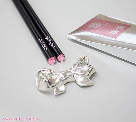 可艾婚禮小物_筷子筷架禮盒 姊妹禮伴娘禮