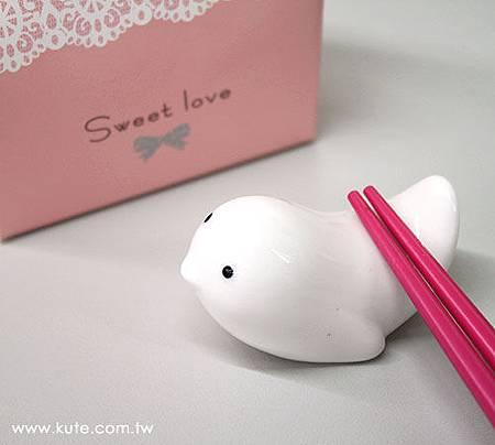 可艾婚禮小物_幸福之鴿筷架 白鴿筷架 姊妹禮伴娘禮