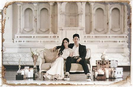 吳建豪與石貞善 婚紗照