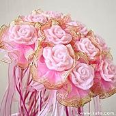 可艾婚禮小物_玫瑰香皂花束