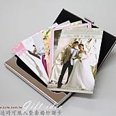 可艾婚禮小物_愛相隨 名片夾 謝卡套 伴郎禮 伴娘禮