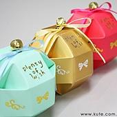 可艾婚禮小物_八面玲瓏 鈴鐺喜糖盒