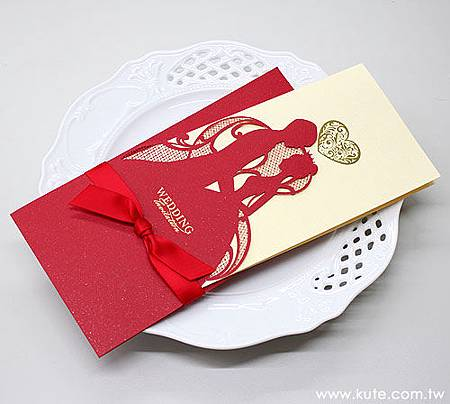 可艾進口喜帖_CW2513 西式婚卡