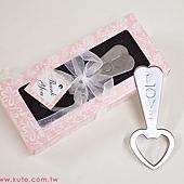 可艾婚禮小物__LOVE心形開瓶器