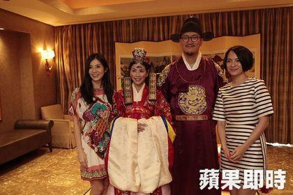 許茹芸首爾婚禮 韓式古禮