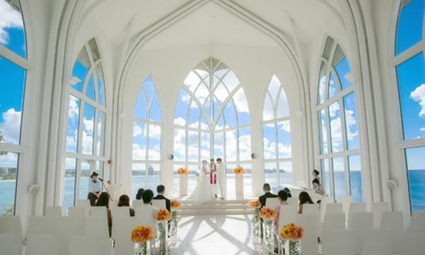 海島婚禮最夢幻 關島水晶教堂