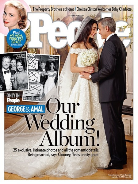 喬治克隆尼 婚禮照片