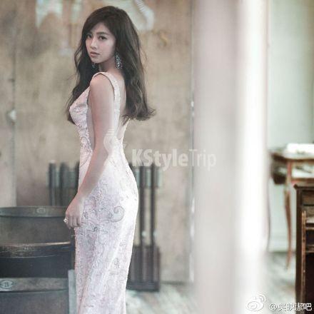 韓式婚紗公司邀請鬼鬼擔任模特兒