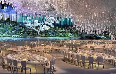 杜拜夢幻水晶婚禮
