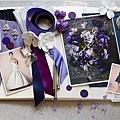 主題色系婚禮 藍紫色系