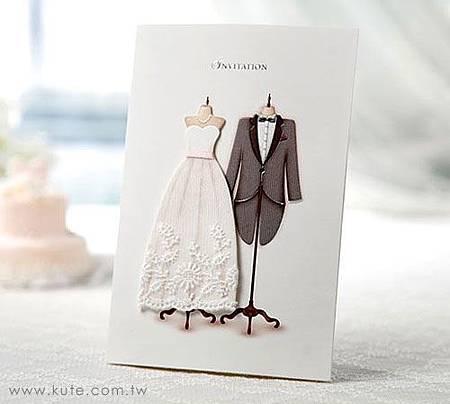 可艾婚禮 進口喜帖
