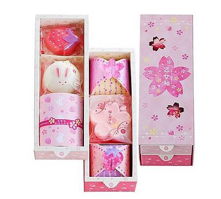 日本櫻花香皂禮盒