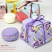 可艾婚禮小物 馬卡龍 造型磁鐵 禮盒