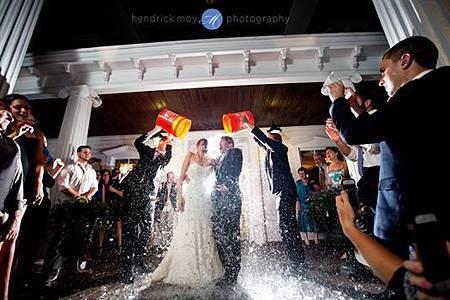 婚禮 冰桶挑戰