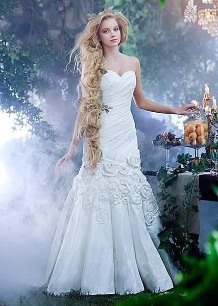 Alfred Angelo 2014迪士尼童話公主婚紗禮服系列