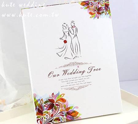 可艾婚禮 婚禮簽名本 指紋簽名樹