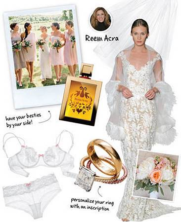 Reem Acra 婚禮建議