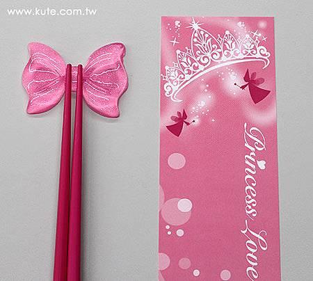 可艾婚禮小物 公主筷架組 筷嫁姊妹裡伴娘禮