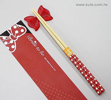 可艾婚禮小物 米妮筷架組 筷嫁姊妹裡伴娘禮