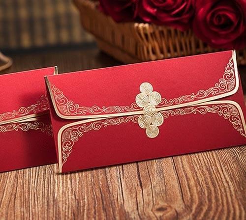 可艾婚禮用品 中式袖扣紅包袋