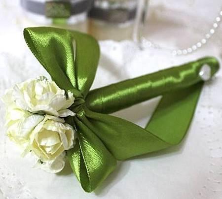 可艾婚禮用品_蝴蝶結花球簽名筆