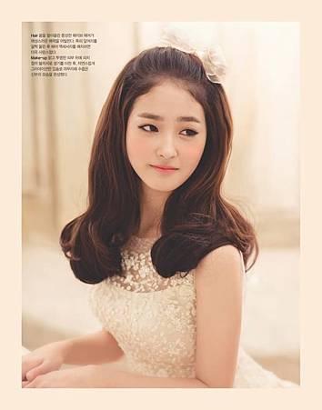 韓系新娘髮型